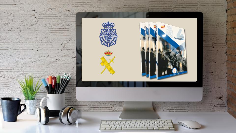 Temario propio para preparación a opociones de Policía y Guardia Civil