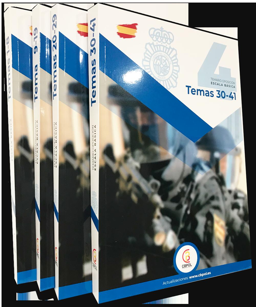Comprar temario actualizado para policía nacional