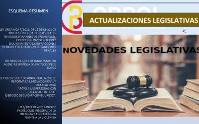 Actualizaciones Legislativas Mayo- Junio  2021